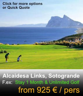 Alcaidesa Links Golf Package